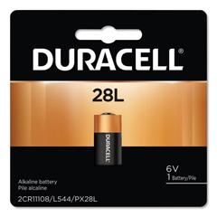 DURPX28LBPK - Duracell® Lithium Batteries, 6V, 6/Carton