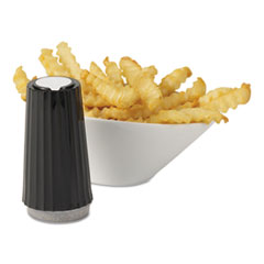 MKL15320 - Diamond Crystal Classic Gray Disposable Pepper Shakers