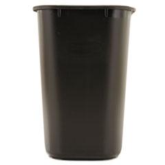 RCP295600BK - Rubbermaid Commercial® Deskside Plastic Wastebasket