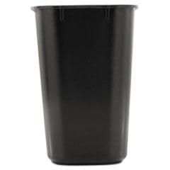 RCP295500BK - Rubbermaid® Commercial Deskside Plastic Wastebasket