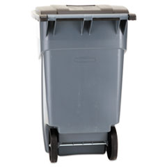 RCP9W27GY - Rubbermaid Commercial® Square Brute® Rollout Container