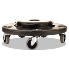 RCP264000BK - Rubbermaid® Commercial Brute® Round Twist On/Off Dolly