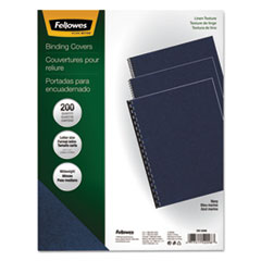 FEL52098 - Fellowes® Expressions™ Linen Texture Presentation Covers for Binding Systems