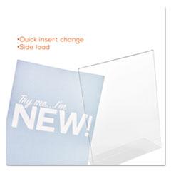 DEF69701 - deflect-o® Superior Image® Slanted Desktop Sign Holder