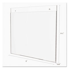 DEF68301 - deflect-o® Classic Image® Single-Sided Wall Sign Holder