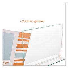 DEF5991890 - deflect-o® Superior Image® Premium Green Edge Sign Holder