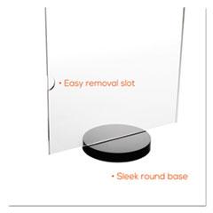 DEF690275 - deflect-o® Superior Image® Round Base Frame
