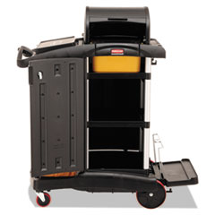 RCP9T7500BK - Rubbermaid® Commercial High-Security Healthcare Cleaning Cart