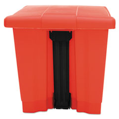 RCP6143RED - Indoor Utility Step-On Waste Container