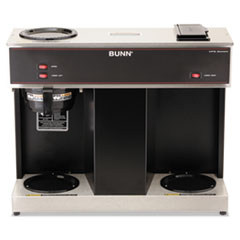BUNVPS - BUNN® Pour-O-Matic® Three-Burner Pour-Over Coffee Brewer
