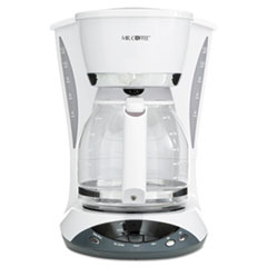 MFEDWX20RB - Mr. Coffee® 12-Cup Programmable Coffeemaker