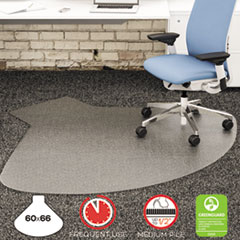 DEFCM14003K - deflect-o® SuperMat™ Chair Mat for Medium Pile Carpet