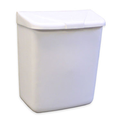 HSC250-201W - HospecoFeminine Hygiene Products Waste Receptacle ABS Plastic