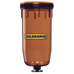 GLD250-495-4 - GoldenrodTransparent Polymer Replacement Bowls
