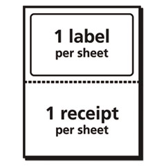 AVE5127 - Avery® Shipping Labels with Paper Receipt