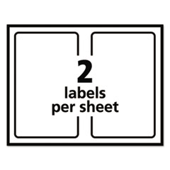 AVE5126 - Avery® Shipping Labels w/Ultrahold™ Ad & TrueBlock®
