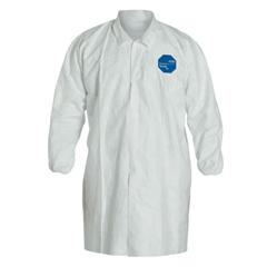 DUP251-TY211S-XL - DuPontTyvek Lab Coats No Pockets Knee Length, X-Large, Dupont Tyvek Lab Coat