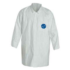 DUP251-TY212S-SM - DuPontTyvek Lab Coats Two Pockets, Small, Tyvek
