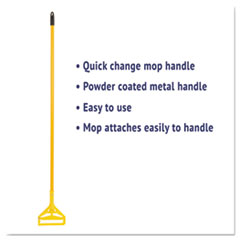 BWK620 - Quick Change Side-Latch Plastic Mop Head Handle
