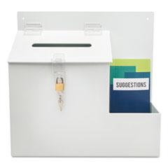 DEF79803 - deflect-o® Plastic Suggestion Box
