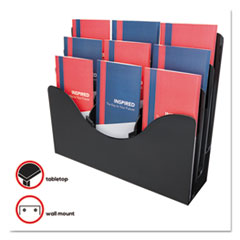 DEF47634 - deflect-o® Three-Tier Document Organizer with Dividers