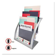 DEF693745 - deflect-o® Three-Tier Literature Holder