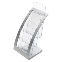 DEF693645 - deflect-o® Three-Tier Literature Holder
