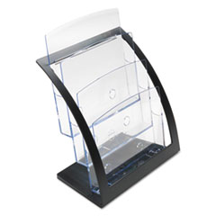 DEF693704 - deflect-o® Three-Tier Literature Holder