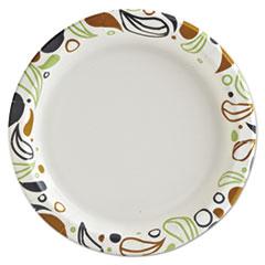 BWKDEER9PLT - Boardwalk® Deerfield Printed Paper Dinnerware
