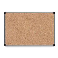 UNV43713 - Universal® Cork Bulletin Board with Aluminum Frame