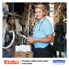 KCC01772 - WYPALL* L10 Dairy Wipers POP-UP* Box