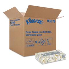 KCC03076 - Kleenex® White Facial Tissue
