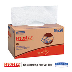 KCC05320 - WYPALL* L10 Utility Wipers POP-UP* Box
