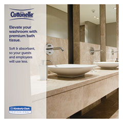KCC07304-PL - Kimberly Clark ProfessionalKLEENEX® COTTONELLE® 2-Ply JRT