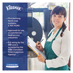 KCC91595 - Kleenex® E-2 Foam Skin Cleanser