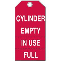 BRY262-17927 - BradyCylinder Status Tags
