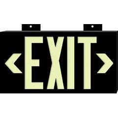 BRY262-38098 - BradyBradyGlo™ High Performance Glow-In-The-Dark Exit Signs