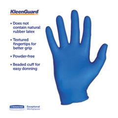 KCC90097 - KLEENGUARD* G10 Arctic Blue Nitrile Gloves - Medium