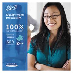 KCC13217 - Scott® 100% RF Standard Roll Bathroom Tissue