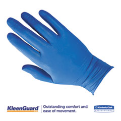 KCC90098 - KLEENGUARD* G10 Arctic Blue Nitrile Gloves - Large