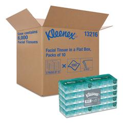 KCC13216 - Kleenex® Flat Box Facial Tissue - Convenience Case