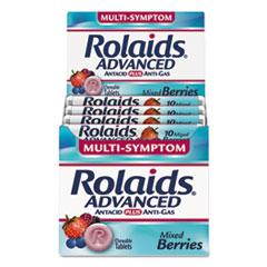 LILR10405 - Rolaids® Advanced Antacid Plus Anti-Gas Tablets