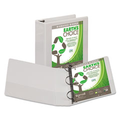 SAM16987 - Samsill® Earth's Choice Biodegradable Angle-D Ring View Binder