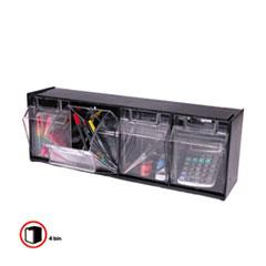 DEF20404OP - deflect-o® Tilt Bin™ Horizontal Interlocking Storage System