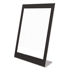 DEF69775 - deflect-o® Superior Image® Black Border Sign Holder