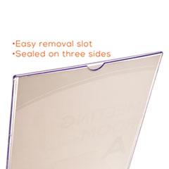 DEF590601 - deflect-o® Superior Image® Sign Holder with Pocket