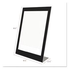 DEF69575 - deflect-o® Superior Image® Black Border Sign Holder