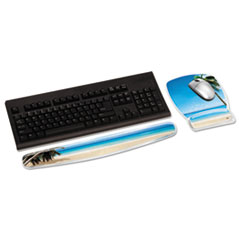MMMMW308BH - 3M Fun Design Clear Gel Wrist Rest