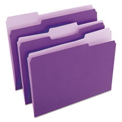 UNV10505 - Universal® Colored File Folders With Top Tabs