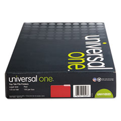 UNV10523 - Universal® Colored File Folders With Top Tabs